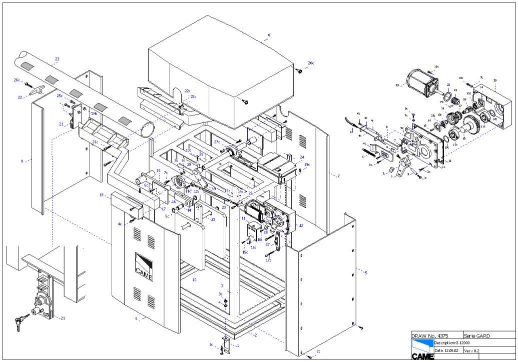 GARD G12000, Автоматические