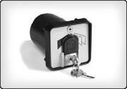 Автоматика CAME, ключ-выключатель, обзор, описание.
